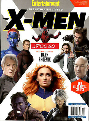 Entertainment Weekly Collectors 2019, The Ultimate Guide To The Xmen, New/Sealed