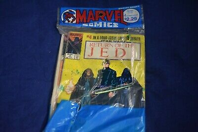 "Vintage, 1983, 4 Issue Limited Series of Marvel Comics ""Return of the Jedi"" Rare"
