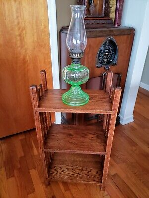 Antique Arts & Crafts Mission style oak stand