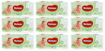 HUGGIES BABY WIPES NATURAL CARE 56ct (9 PACK)