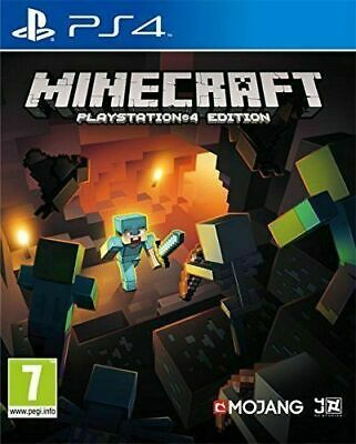 Minecraft Playstation 4 Edition PS4 Inc Fast Free Postage/Dispatch