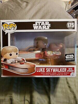 Funko Pop Smugglers Bounty Star Wars Luke Skywalker With Speed Racer