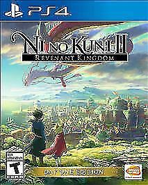 BRAND NEW Ni No Kuni 2 II Day One Edition Sony PlayStation 4 PS4 Factory Sealed