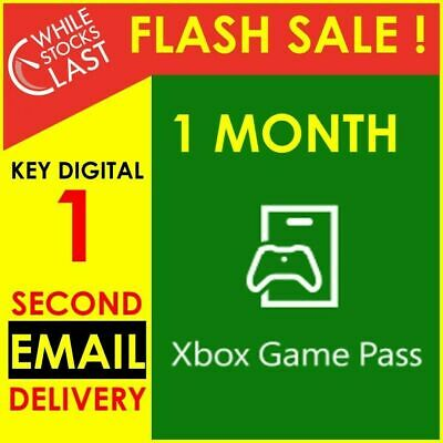 Email Delivery - Xbox Game Pass Trial 1 Month Subscription Key