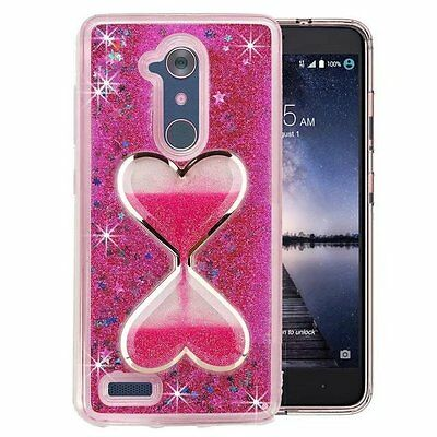 Cell Phones & Accessories United For Zte Max Xl Blade Glitter Wallet Phone Case Hybrid Extra Pocket Stand Purse Customers First Cases, Covers & Skins