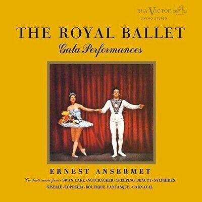 Ernest Ansermet - Royal Ballet Gala Performances CD 2 DISC CAPC6065SA