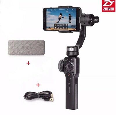 Zhiyun Smooth 4 3-Axis Handheld Smartphone Gimbal Stabilizer/  Missing Tripod!!