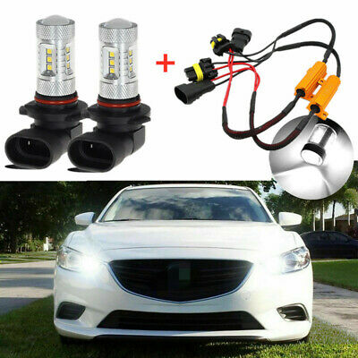iJDMTOY 8K Blue 80W 16-CREE 9005 LED High Beam Daytime Running Lights For Lexus IS GS LS SC RX LX GX ISF Toyota Corolla Venza Highlander Camry Prius