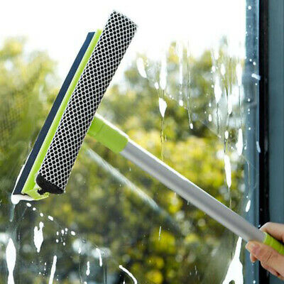 2Pcs Double Sides Window Brush Glass Wiper Brushes Car Window Cleaning Tool