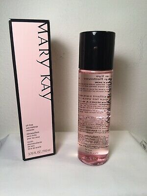 Mary Kay OIL FREE EYE MAKEUP REMOVER FRESH & NEW IN BOX 3.75 Fl. Oz.