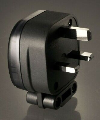 MS HD Power MS 328 13A UK Mains Plug - Silver Plated