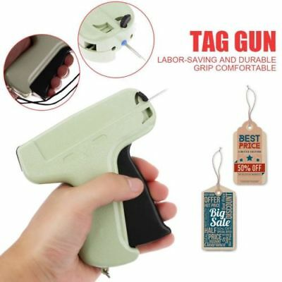 "Clothes Garment Price Label Tagging Tag Gun 1""1000 Barbs and 5 Needles 2019"