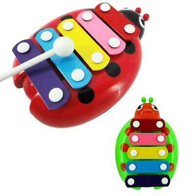 2015 Baby Child Kids 5-Note Xylophone Wisdom Development Beetle Musical Toys BR