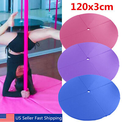 Portable Fitness Exercise Professional Pole Dance Spinning Pad Sport Mat  US