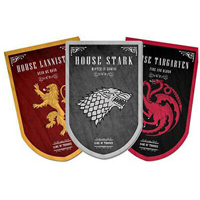 Game of Thrones Tournament Banner Flag Hanging House Stark Targaryen Lannister
