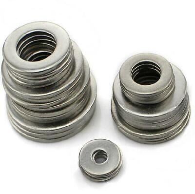 A4 Stainless Steel Form A Washers M14 M16 M18 M20 M22 M24 Flat Washer Marine Gra