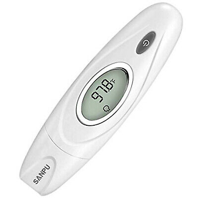 Digital Forehead And Ear Thermometer Dual Baby Adult Fever Infrared Accurate New