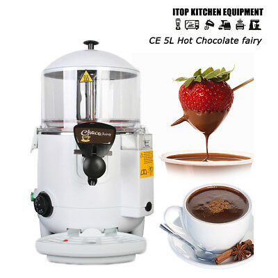5L Hot Chocolate Dispenser Machine Chocofairy Slushie Specialists Maker