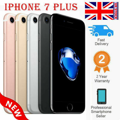 New Factory Unlocked APPLE iPhone 7 Plus 32GB 128GB GSM 2 Yr Wty All Colors