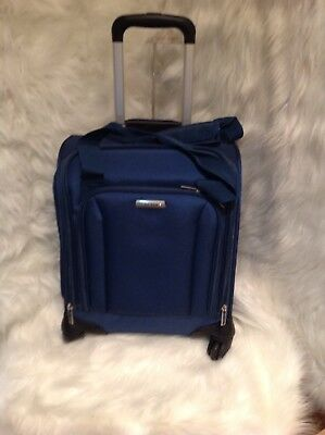 Samsonite Spinner Underseater with USB Port - eBags Softside Carry-On NEW