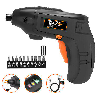 Electric Screwdriver Set Cordless Rechargeable 1500 mAh Li-on Power Drill Tool