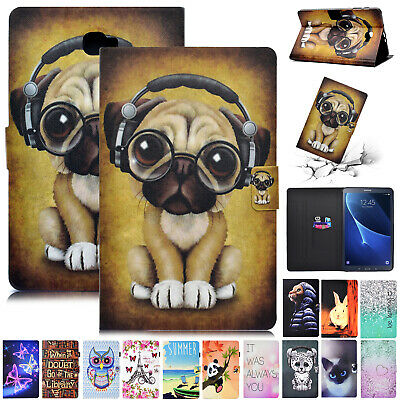 For Samsung Galaxy Tab A 10.1 2019 SM-T515 T510 Smart Leather Flip Case Cover