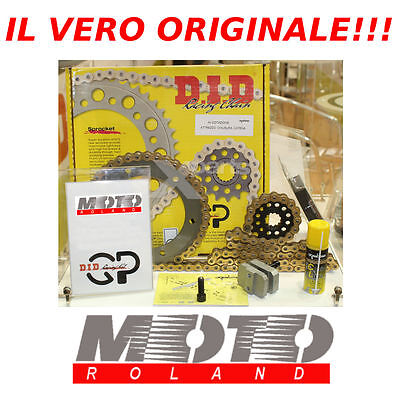 Kit Trasmissione Catena Originale Did Racing Gp Mv Agusta 910 Brutale '05-'10 +2