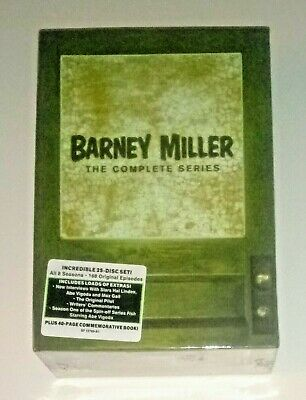 Brand New! Barney Miller: The Complete Tv Series. 25 Disc Dvd Box Set. Free Ship