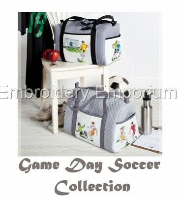 Game Day Soccer Collection - Machine Embroidery Designs On Cd Or Usb