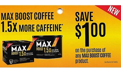 save on MAX BOOST ☕ COFFEE Maxwell House roast ground + Bonus [Canada]