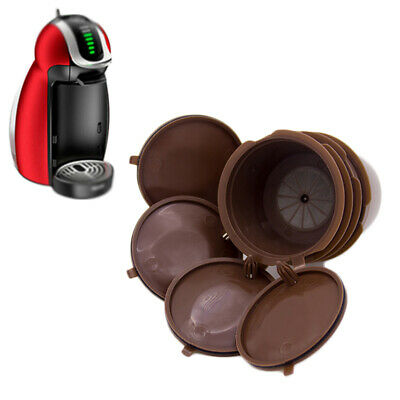 2-10 X Refillable Coffee Capsule Cup For Dolce Gusto Nescafe Reusable Filter Pod