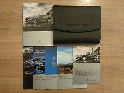 Mercedes SL Owners Handbook/Manual and Pack 12-15
