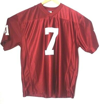 the best attitude 818c0 6a535 Texas A M Aggies College NCAA Maroon Football Jersey Mens Large EUC
