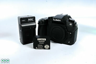 Panasonic Lumix DMC-G85 Mirrorless Micro 4/3 Digital Camera Body, Black {16 M/P}