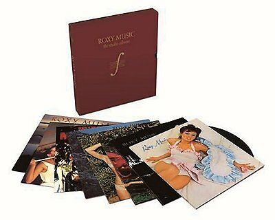 NEU + OVP 180g Vinyl Limited 8 LP Box The Studio Albums Roxy Music Bryan Ferry