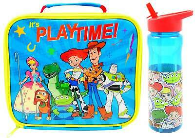 Toy Story 4 Insulated Lunch Bag/Box and Pop-Up Sip Bottle (500ml) | Lunchbox