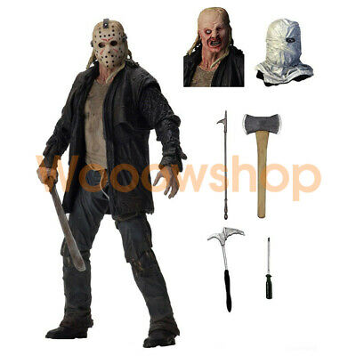 """NECA Friday the 13th Jason 2009 Movie Remake 7"""" Ultimate Action Figure New"""