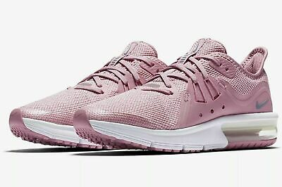 86bed36362 Nike Air Max Sequent 3 (PS) Girls Running Shoes AO1252 601 Elemental Pink  NIB