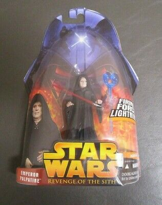 Emperor Palpatine 2005 STAR WARS Revenge of the Sith ROTS MOC #12