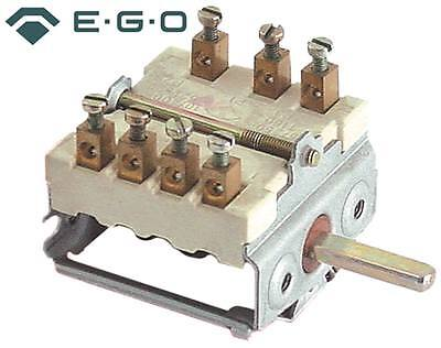 Ego Cam Switches 3-pin Axle Ø 6x4, 6x23mm Connection Screw Terminal 5-Takt