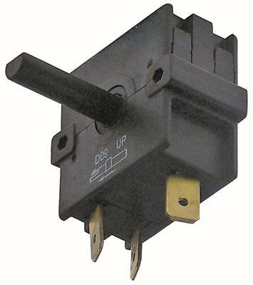Bartscher Rotary Switch A040081 for Toaster A151600 250V 2NO 4 Positions