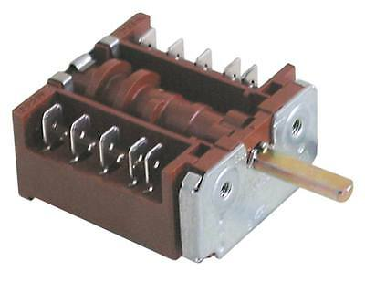 Ego 42.04400.001 Cam Switch 4-pin Axle Ø 6x4, 6x23mm 4 Positions