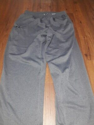 ed4fa9d5 Men's Under Armour Sweatpants, Grey, Size 2XL, Big&Tall, FREE SHIPPING