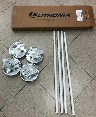 Lithonia Swivel Stem Hanger and Canopy 24""