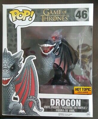 Funko Pop! 6 INCH DROGON Game of Thrones 🔥Hot Topic Exclusive🔥
