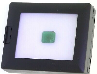 GIA certified 4.98CT 11.56 X 10.31 X 4.79mm loose emerald solitaire