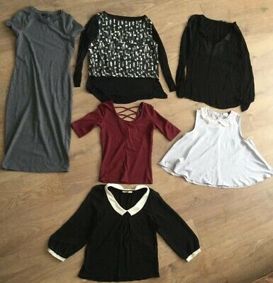 Womens Bundle Tops Dress Size 10 Zara Oasis