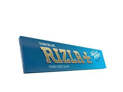 1//2//5//10//20//50 Rizla Blue clasic wide King Size Rolling Papers pcs