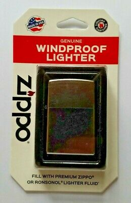 Zippo Windproof Lighter 207 Regular Street Chrome Perfect For Engraving For Gift