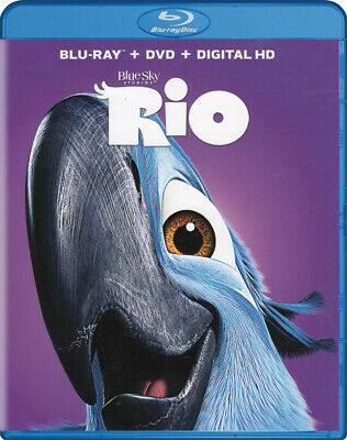 Rio (Blu-ray + DVD + Digital HD) (Blu-Ray) (ca Neuf Blu